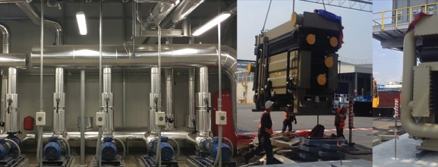 New chiller plant for AGAP tri-generation plant