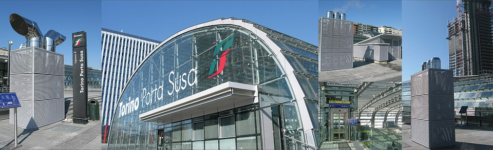 New Passenger building at PORTA SUSA